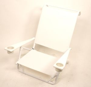 Telescope M545 Mini Sun Chaise w/MGP Arms and Cup Holders - Powder Coat