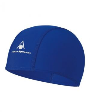 Aqua Sphere Aqua Fit Silicone Swim Cap - Blue