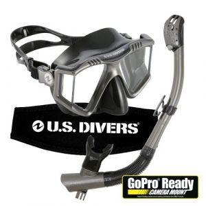 U.S. Divers Adult GoPro® Ready Mask and Snorkel with 180 Vision
