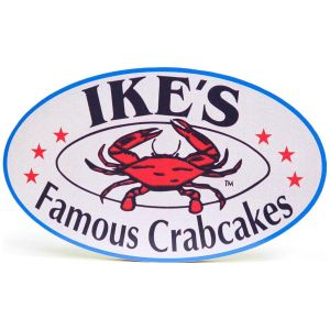 Ike's Famous Crab Cakes Photo Plaque