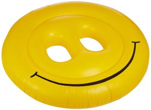 Swimline Smiley Face Pool Float