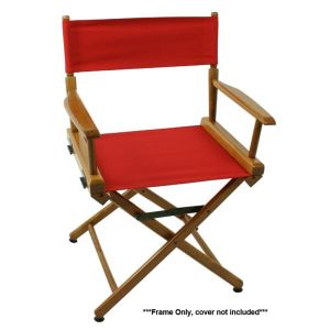 50 World Famous Director Chair - Walnut Frame Only