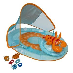 SwimWays Baby Spring Float Activity Center - Lobster