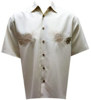 Bamboo Cay Lovely Pineapple Palm Shirt – Large