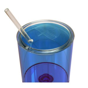 The Beach Glass® Caribbean Collection Lid & Straw *Glass not Included*