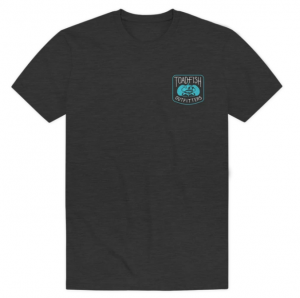 Toadfish® Outfitters Logo T-Shirt - Gray