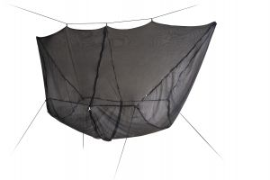 LA SIESTA® BugNet - 360° Protection Mosquito Net for Hammocks - Black