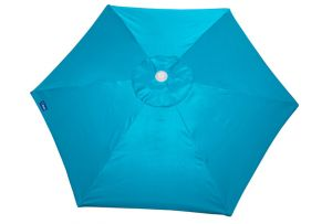 Buoy Beach 7-Foot Aluminum Frame 6 Panel Beach Umbrella