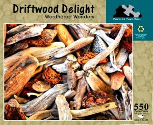 Puzzles That Rock 550 Piece Puzzle 18x24 - Driftwood Delight