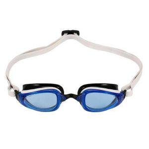 Michael Phelps Adult K180 Goggles - Blue Lens - White/Black