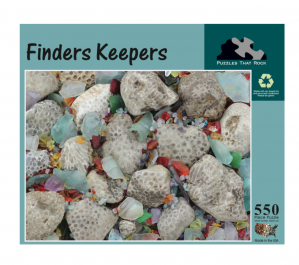 Puzzles That Rock 550 Piece Puzzle 18x24 - Finders Keepers