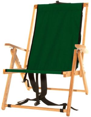 Forest Green Backpack Chair
