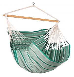 LA SIESTA® Habana - Organic Cotton Kingsize Hammock Chair