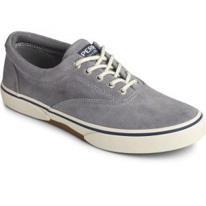 Sperry®  Men's Halyard CVO Corduroy Sneaker - Grey