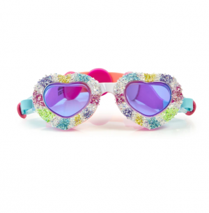 Bling2O® I Luv Candy Swim Goggles - Sweethearts
