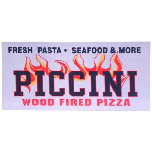 Piccini Wood Fired Brick Oven Pizza Photo Plaque