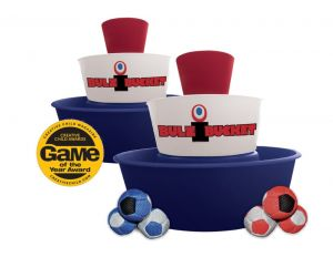 Water Sports Bulzi Buckets Game-Red/White/Blue