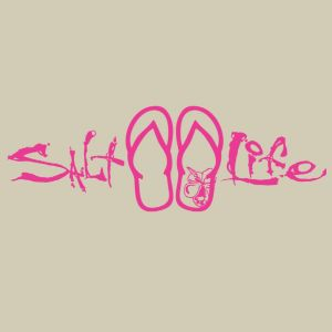 Sandals Decal Pink