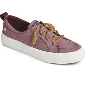 Sperry® Women's Crest Vibe Two Tone Chambray Sneaker - Cordovan