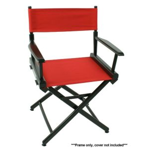 70 World Famous Director Chair - Black Frame Only