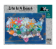 Puzzles That Rock 550 Piece Puzzle 18x24 - Life Is A Beach