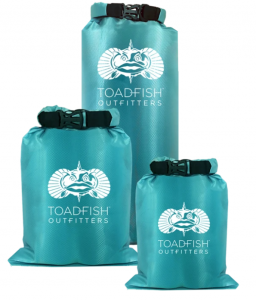 Toadfish® Dry Bags - 3 Pack