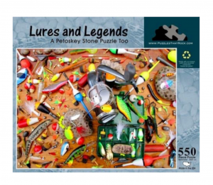 Puzzles That Rock 550 Piece Puzzle 18x24 - Lures and Legends